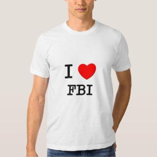 I Love Fbi Tshirt