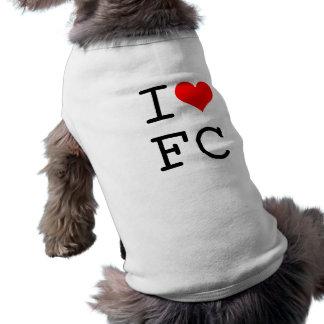 I Love FC Doggie Shirt