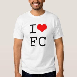 I Love FC Tshirts