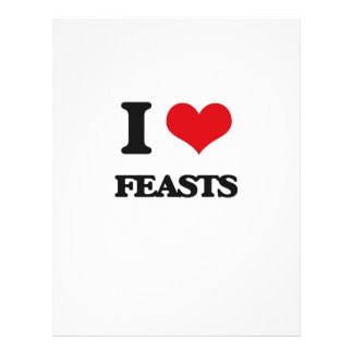I love Feasts Flyers