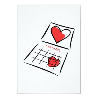 I Love February Card