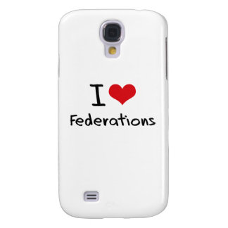 I Love Federations Galaxy S4 Cover