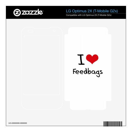 I Love Feedbags LG Optimus 2X Skin