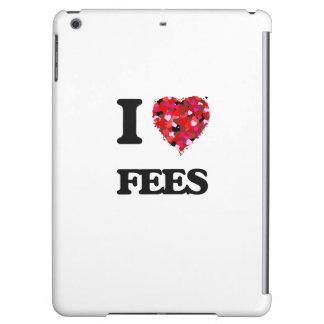 I Love Fees iPad Air Cases