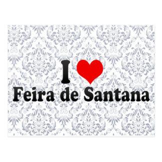 I Love Feira de Santana, Brazil Postcard