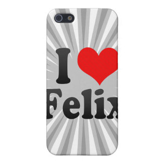 I love Felix Covers For iPhone 5
