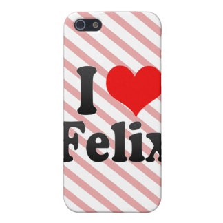 I love Felix Cover For iPhone 5