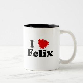 I Love Felix Two-Tone Coffee Mug