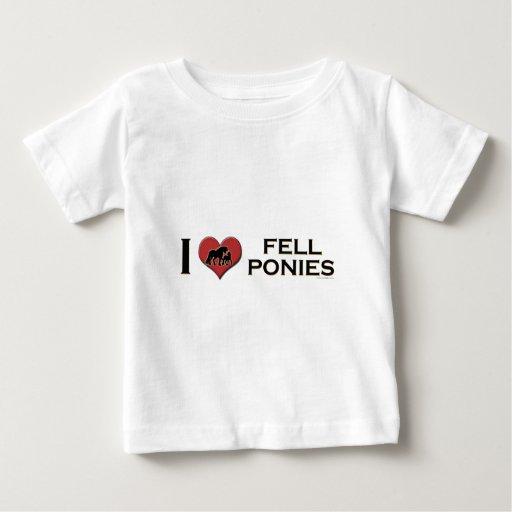 "I Love Fell Ponies: ""I Heart Fell Ponies"" Baby T-Shirt"