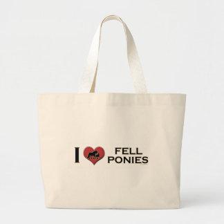 "I Love Fell Ponies: ""I Heart Fell Ponies"" Tote Bags"