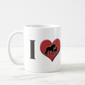 "I Love Fell Ponies: ""I Heart Fell Ponies"" Coffee Mug"
