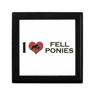 "I Love Fell Ponies:  ""I Heart Fell Ponies"" Keepsake Box"