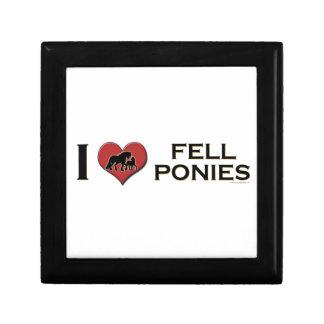 "I Love Fell Ponies:  ""I Heart Fell Ponies"" Keepsake Box"