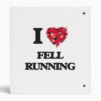 I Love Fell Running 3 Ring Binder
