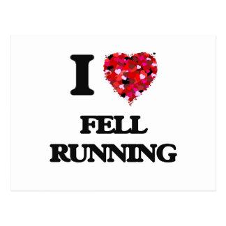 I Love Fell Running Postcard