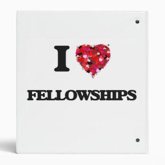 I Love Fellowships Binders