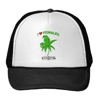 I Love Females Hat