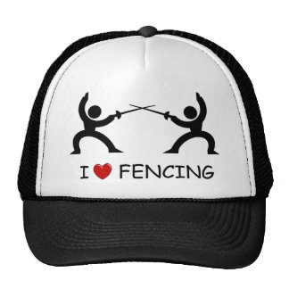 I Love Fencing Trucker Hat