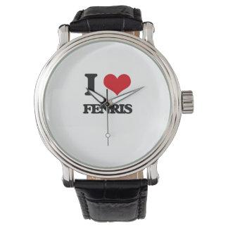 I love Fenris Wristwatch