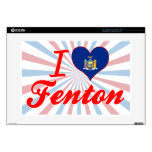 I Love Fenton, New York Laptop Decals