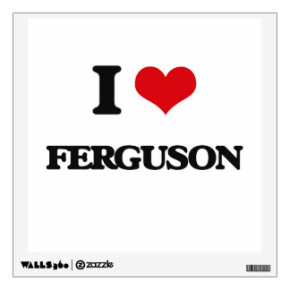 I Love Ferguson Wall Decor