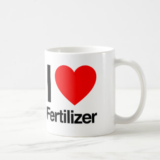 i love fertilizer coffee mug