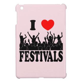 I Love festivals (blk) Case For The iPad Mini