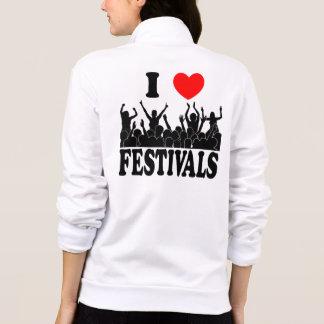 I Love festivals (blk) Jacket