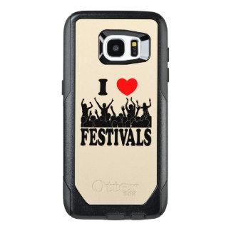 I Love festivals (blk) OtterBox Samsung Galaxy S7 Edge Case