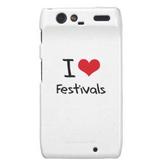 I Love Festivals Droid RAZR Covers