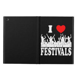 I Love festivals (wht) Powis iPad Air 2 Case