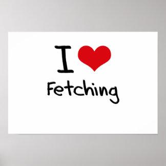 I Love Fetching Print