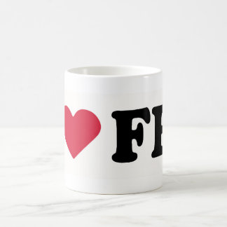 I LOVE FEZ COFFEE MUG