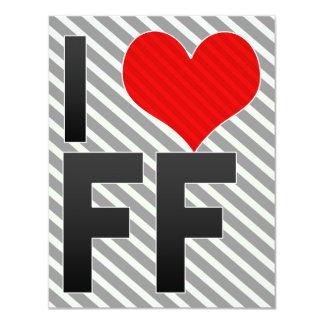 I Love FF Card