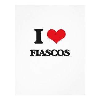 I love Fiascos Custom Flyer
