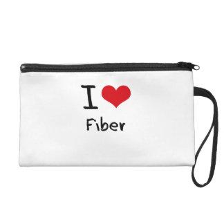 I Love Fiber Wristlet Purses