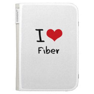 I Love Fiber Kindle Cover