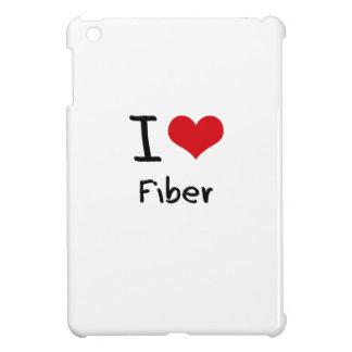 I Love Fiber iPad Mini Cases