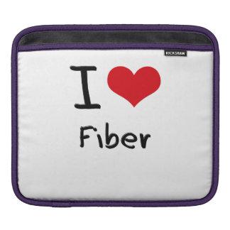 I Love Fiber Sleeves For iPads