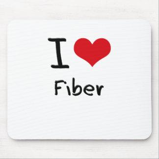I Love Fiber Mousepad
