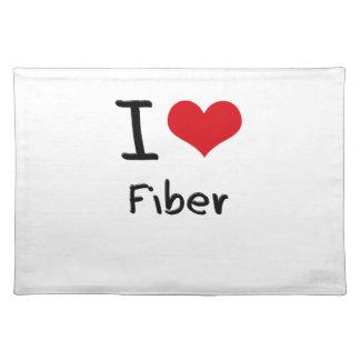 I Love Fiber Place Mats