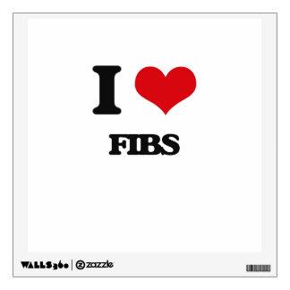 I love Fibs Wall Skin