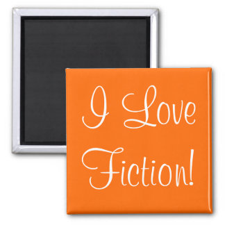 I Love Fiction Magnet