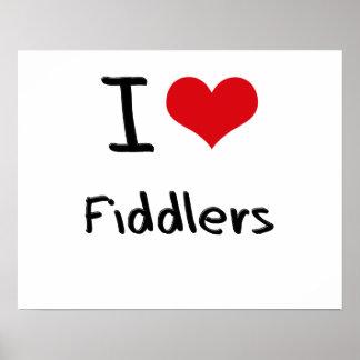 I Love Fiddlers Poster