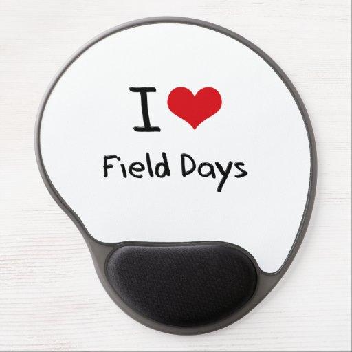 I Love Field Days Gel Mousepad