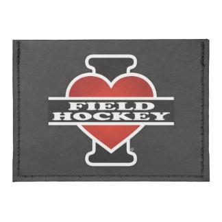 I Love Field Hockey Tyvek® Card Case Wallet