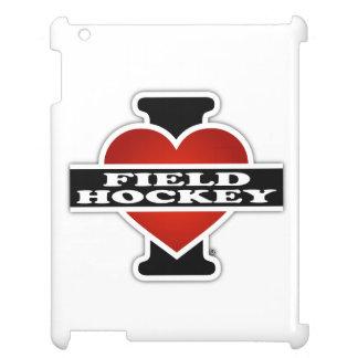 I Love Field Hockey iPad Case
