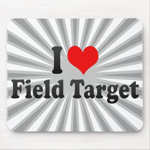 I love Field Target Mousepad