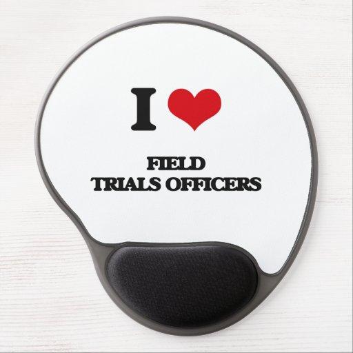 I love Field Trials Officers Gel Mousepad