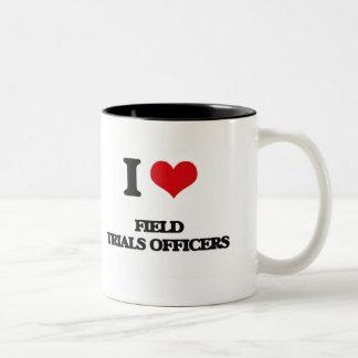 I love Field Trials Officers Mugs